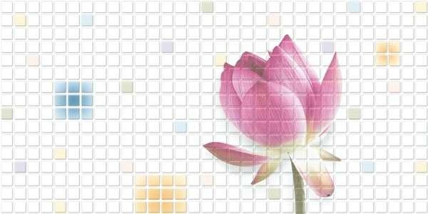 - 300 x 600 mm (12 x 24 Zoll) - Lotus-604-A
