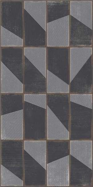 - 600 x 1200 mm (24 x 48 Zoll) - grunge-black-decor