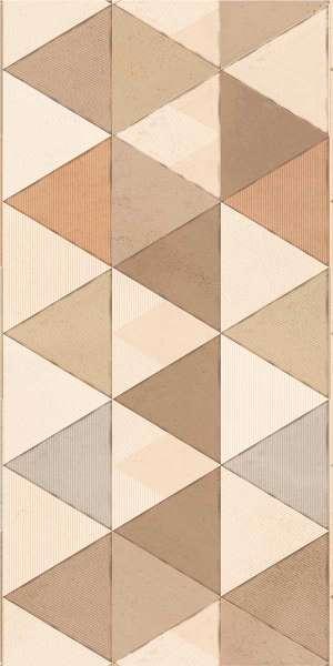 - 600 x 1200 mm (24 x 48 Zoll) - jacquard-brown-decor